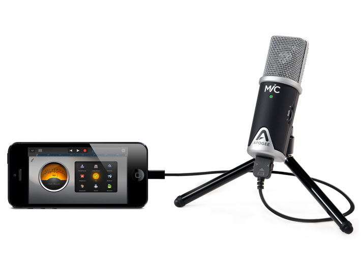 mic iphone garageband apogee electronics by altei. Black Bedroom Furniture Sets. Home Design Ideas