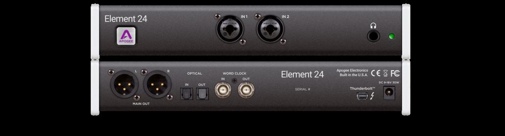 Element-24 přední zadní panel